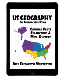 US Geography Book