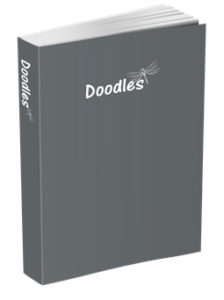 Doodles Journal in Slate Gray