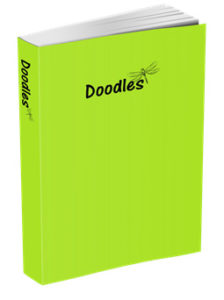 Doodles Journal in Chartreuse Green