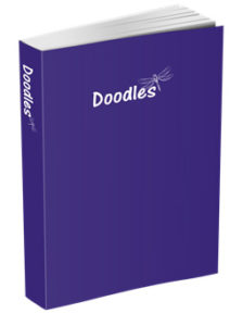Doodles Journal in Purple