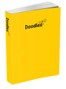 Doodles Journal in Sunflower Yellow