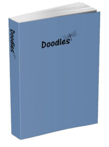 Doodles Journal - Blue-Gray