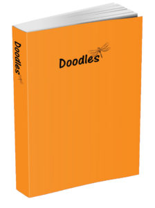 Doodles Journal - Tangerine Orange