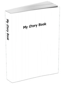 My Story Book - White