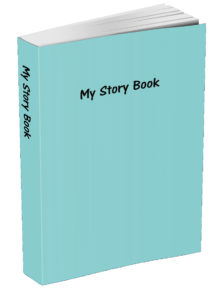 My Story Book - Caribbean Blue