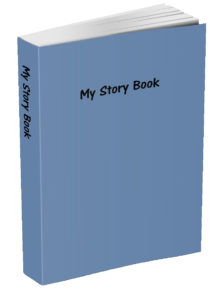 My Story Book - Blue-Gray
