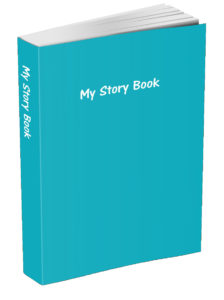 My Story Book - Robins Egg Blue
