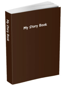 My Story Book - Chocolate Brown