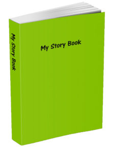 My Story Book - Lime Green