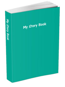 My Story Book - Persian Green