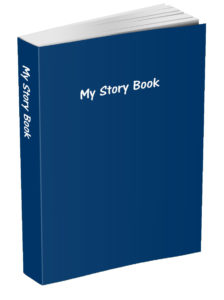 My Story Book - Navy Blue
