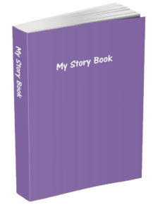 My Story Book - Deluge Purple