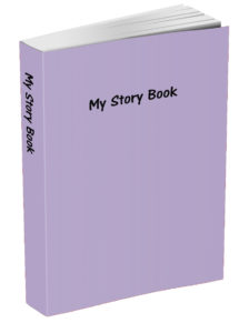 My Story Book - Thistle Purple