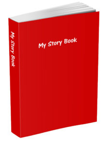 My Story Book - Red