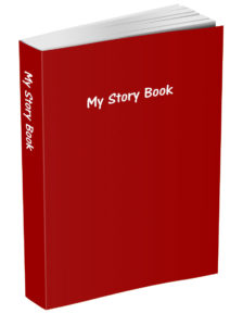 My Story Book - Brick Red