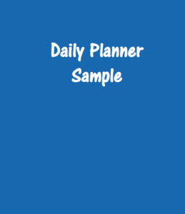 Daily Planner - Downloadable PDF