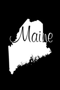 Maine Notebook Cover