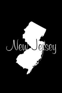 New Jersey Notebook Cover