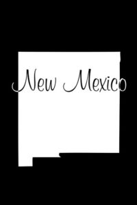 New Mexico Notebook Cover