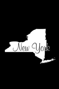 New York Notebook Cover