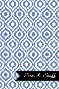 iKat Blue-Gray Notebook Cover
