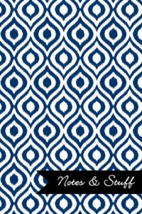 iKat Navy Blue Notebook Cover