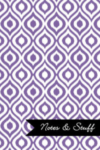 iKat Deluge Purple Notebook Cover