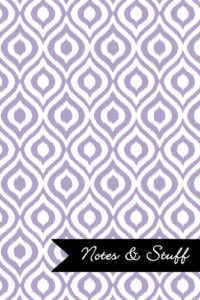 iKat Thistle Purple Notebook Cover