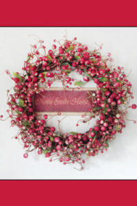 Quotes & Word Notebook Covers - Berry Wreath