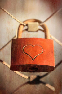 Notebook Covers - Heart Lock