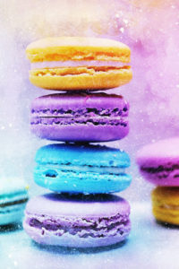 Cookies & Desserts Notebook Covers - Macaroons