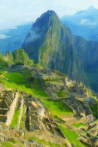 Building & Landmark Notebook Covers - Machu Picchu