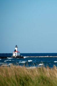 Lighthouse Notebook Covers - Michigan City Lighthouse