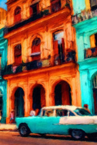 Streets & Storefront Notebook Covers - Street in Havana