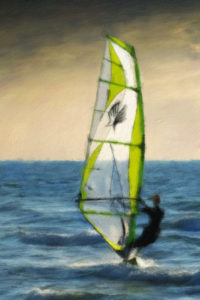 Sport Notebook Covers - Wind Surfing